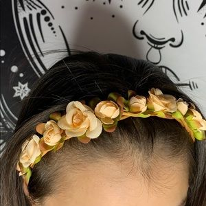 Accessories - Elastic Flower Headband